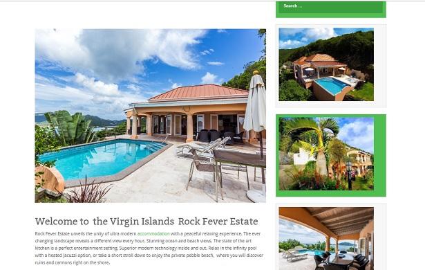 villa virgin islands, Caribbean
